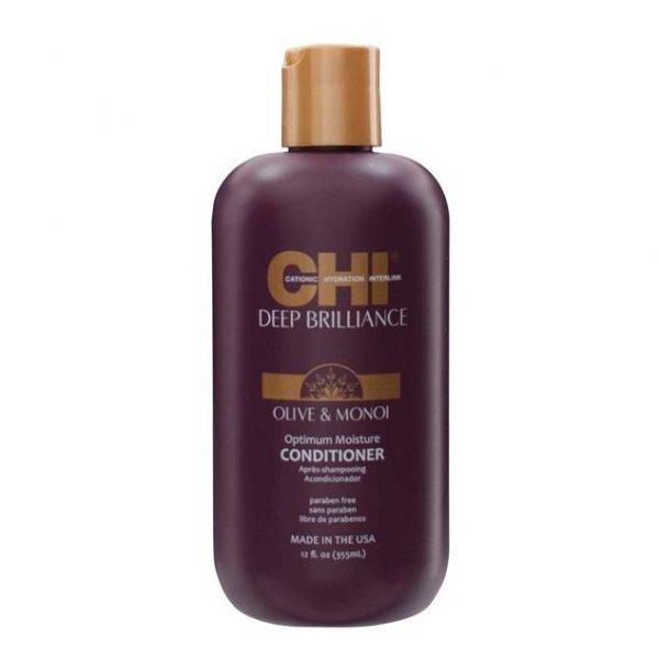 Хидратиращ балсам за увредени и третирани коси CHI Deep Brilliance Conditioner 355ml