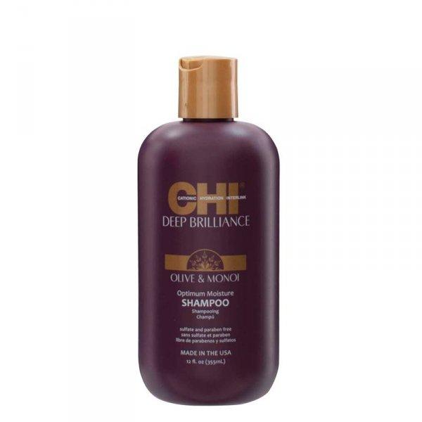 Хидратиращ шампоан за увредени и третирани коси CHI Deep Brilliance Shampoo 355ml