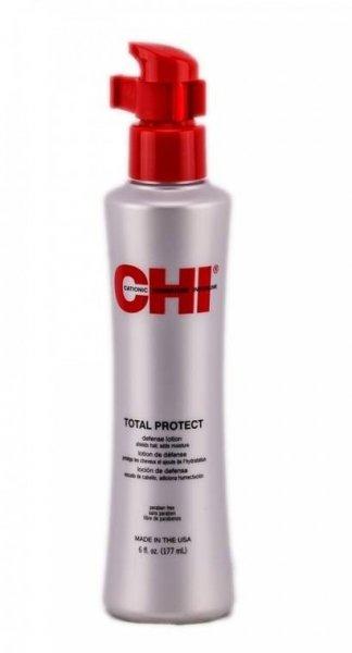 Силен термозащитен лосион с хидролизирана коприна CHI Total Protect 177 мл.