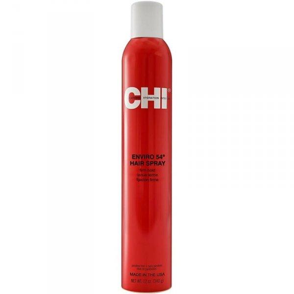 Лак за коса със силна фиксация обогатен с копринени протеини и билки, без парабени - CHI ENVIRO FIRM HOLD HAIR SPRAY Firm 340 гр.