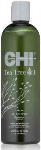 Подхранващ шампоан за чувствителен скалп CHI Tea Tree Oil Shampoo 340мл