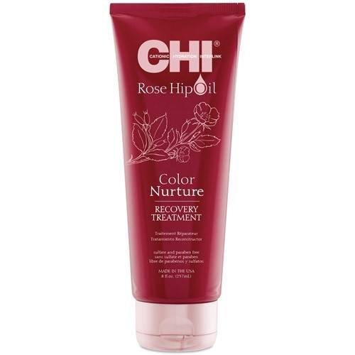 Възстановяваща маска за боядисана коса CHI Rose Hip Oil Color Nurture Treatment 237 мл