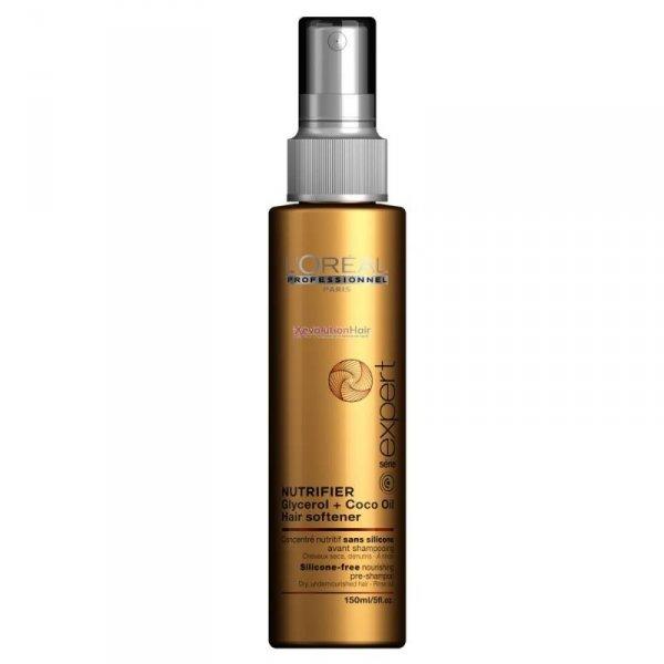 Подхранваща грижа за суха коса преди шампоана LOreal Professionnel Nutrifier Hair Softener 150ml