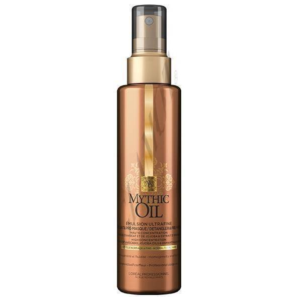 Емулсия за интензивно подхранване на тънка и суха коса LOreal Professionnel Mythic Oil Emulsion Ultrafine 150мл