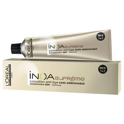 Безамонячна боя с анти-ейджинг ефект за бели коси LOreal Professionnel INOA SUPREME 60гр