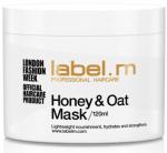 Подхранваща маска за суха коса с мед и овес label.m Honey & Oat Mask 120мл