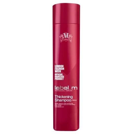 Уплътняващ шампоан за супер обем label.m Thickening Shampoo 300мл