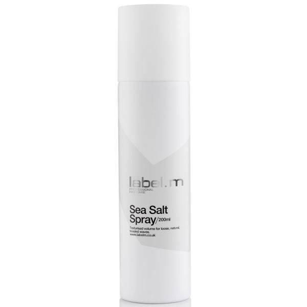 Спрей за небрежни плажни вълни с морска сол label.m Sea Salt Spray 200мл