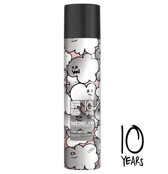 Лак за коса с UV филтър и витамин В5 label.m Hairspray 300мл