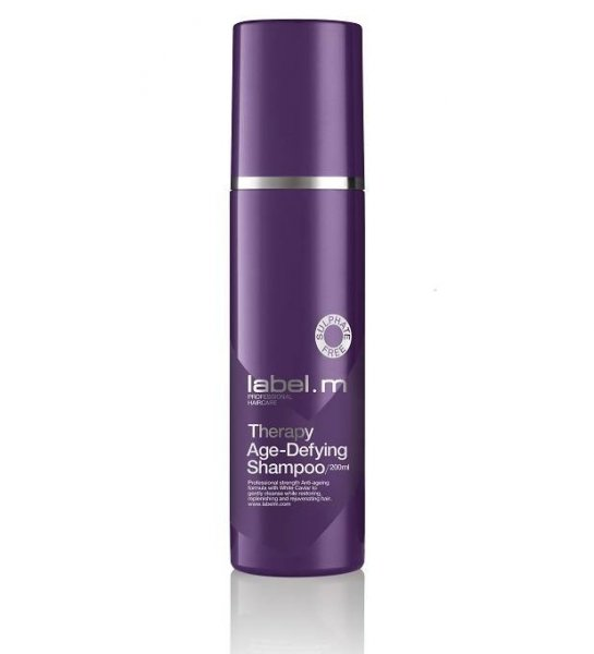Безсулфатен подмладяващ шампоан label.m Therapy Age-Defying Shampoo 200мл