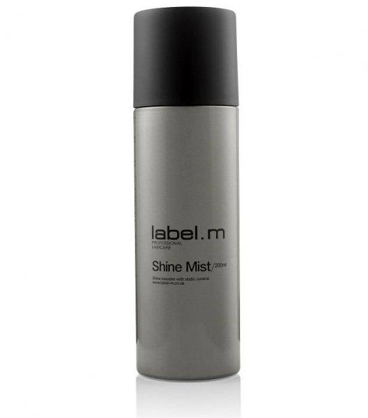 Спрей за блясък с UV защита и пантенол label.m Shine Mist 200мл
