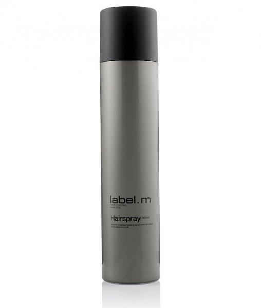 Лак за коса с провитамин В5 и UV защита label.m Hairspray 300мл