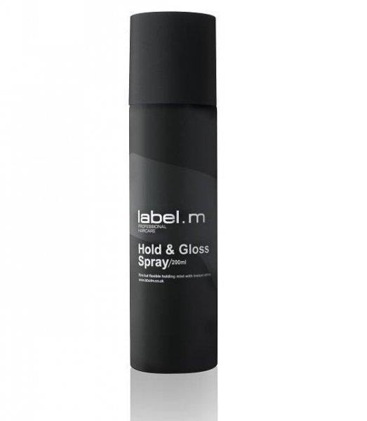 Безаерозолен спрей за блясък с UV защита label.m Hold & Gloss Spray 200мл