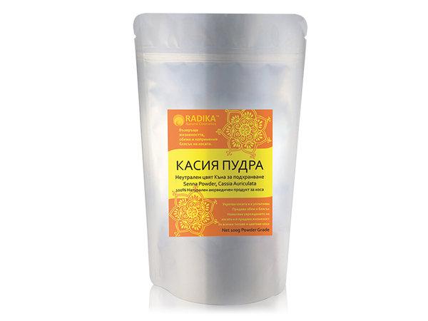 Касия (Неутрална Къна) на прах - Radika - 100 гр.