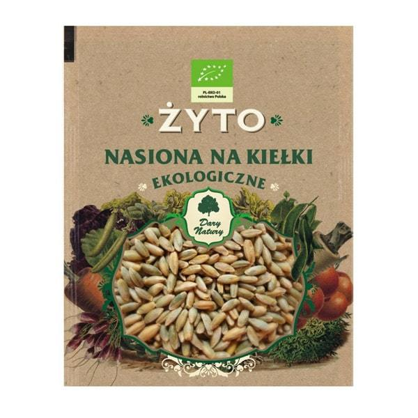 БИО Семена за Покълване от Ръж - Dary Natury - 50 гр.