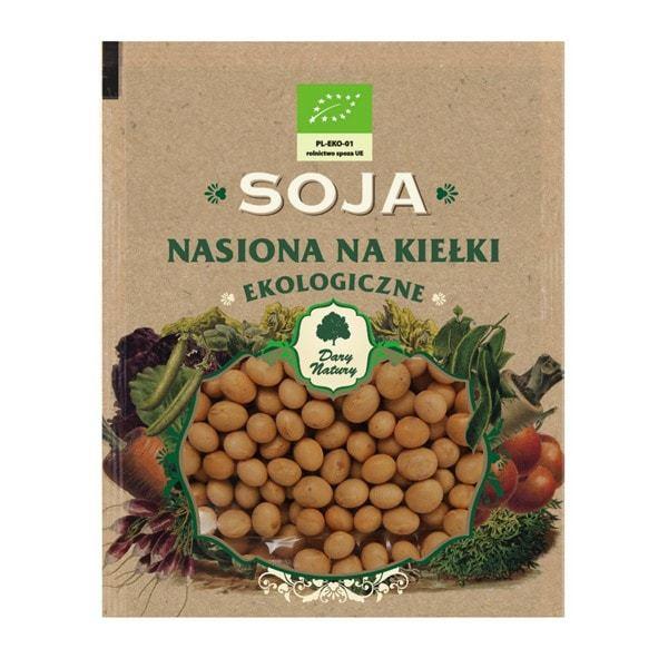 БИО Семена за Покълване от Соя - Dary Natury - 50 гр.