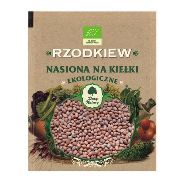 БИО Семена за Покълване от Червено Цвекло - Dary Natury - 30 гр.