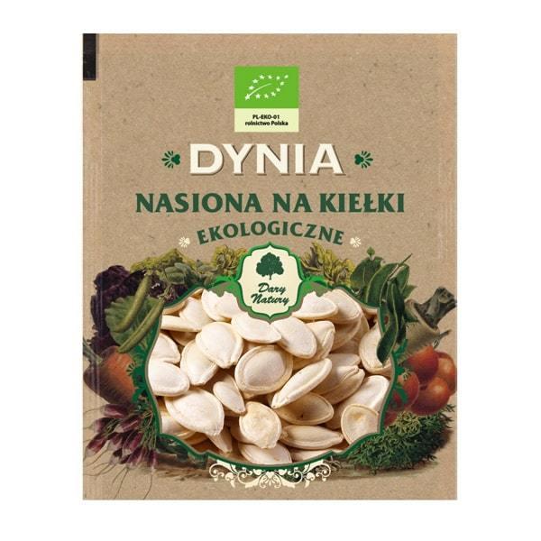 БИО Семена за Покълване от Тиква - Dary Natury - 50 гр.