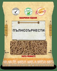 Пълнозърнести Макарони - Пене - Крамас - 250 гр.-Copy