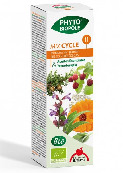 БИО Тинктура Микс 11 Цилъл, Менструация - Phyto Bipole Mix 11 Cycle - Dieticos Intersa - 50 мл.
