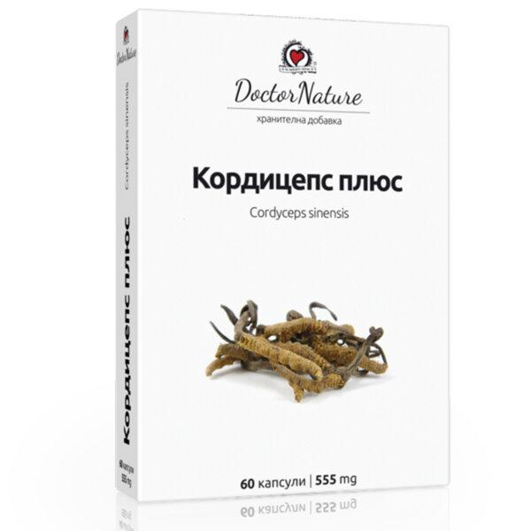 Витални Гъби Кордицепс + /Cordycep +/ - Dr. Nature - 60 капс.
