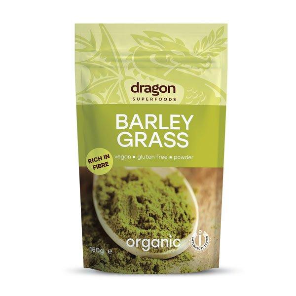 БИО Ечемични стръкове на прах - Dragon Superfoods-150 гр.