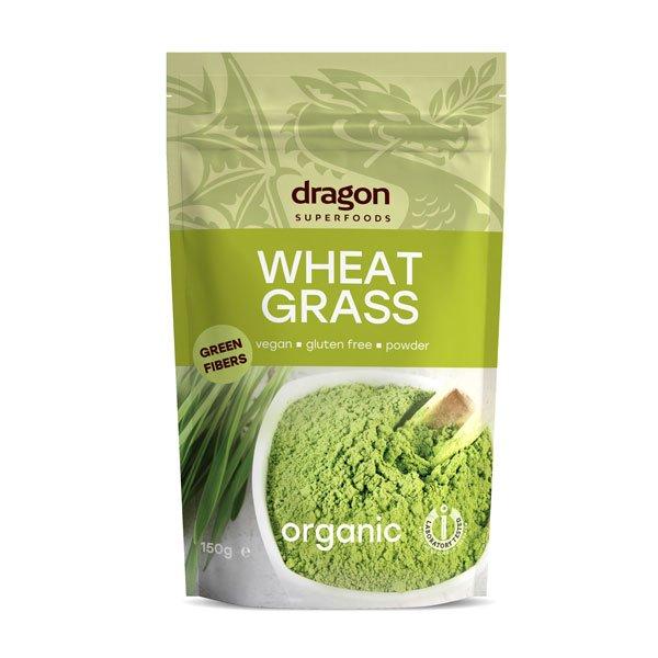 БИО Пшенични стръкове на прах - Dragon Superfoods-150 гр.