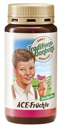 Плодови Бонбони с Витамини A, C и E за Деца без захар - Sanct Bernhard - 170 гр.