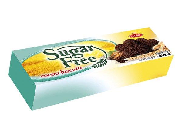 Какаови бисквити без захар - Koleff - 105 гр.
