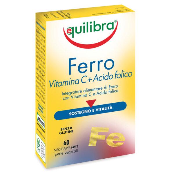 Желязо с Витамин C - Equilibra - 60 капсули