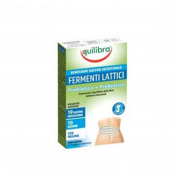 Лактик Ферментс - Пробиотик + Пребиотик - Equilibra - 10 сашета