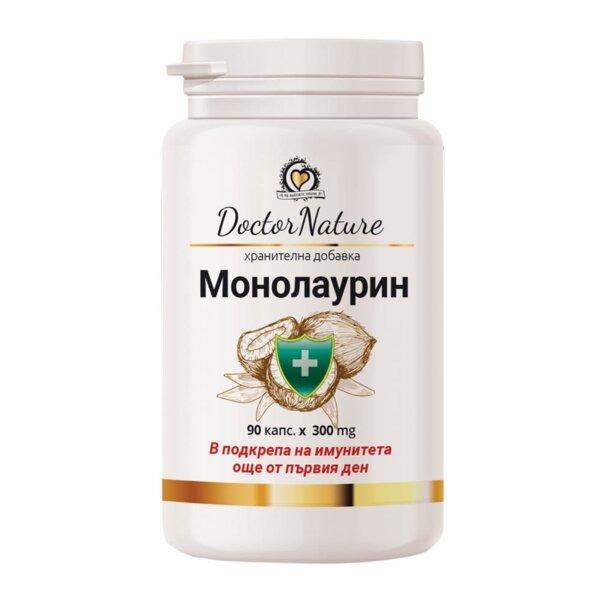 Монолаурин - Dr. Nature - 90 капс.