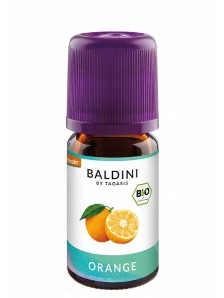 БИО Етерично масло Сладък Портокал /вътрешен прием/- Taoasis Baldini - 5 мл.