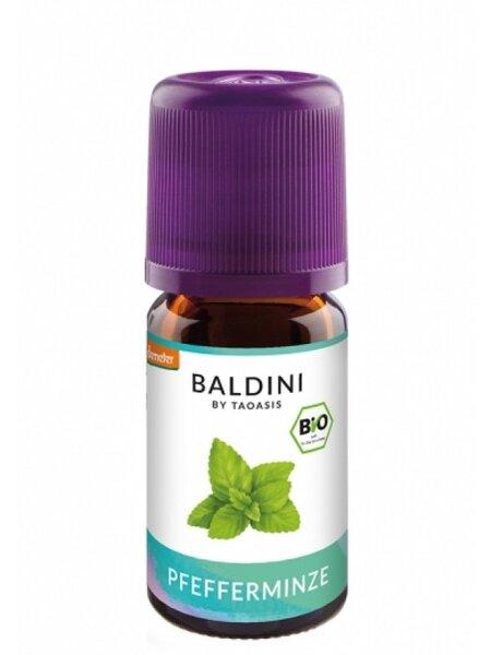 БИО Етерично масло Мента Лютива /вътрешен прием/- Taoasis Baldini - 5 мл.
