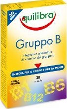 Витамин B комплекс - 30 капсули - Equilibra