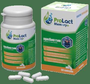 ProLact Energy + - Пробиотик за Енергия и Тонус на Мозъка - 60 капсули-Copy