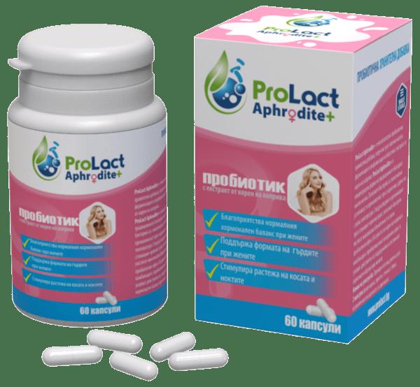 ProLact Afrodite + - Пробиотик за нормален хормонален баланс - 60 капсули
