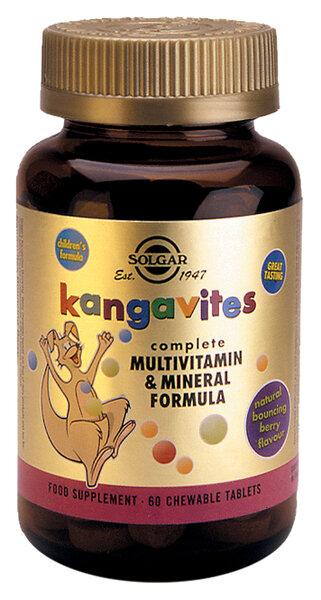 Детски Мултивитамини - Горски Плодове - Solgar - 60 дъвчащи таблетки