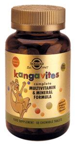 Детски Мултивитамини - Горски Плодове - Solgar - 60 дъвчащи таблетки-Copy