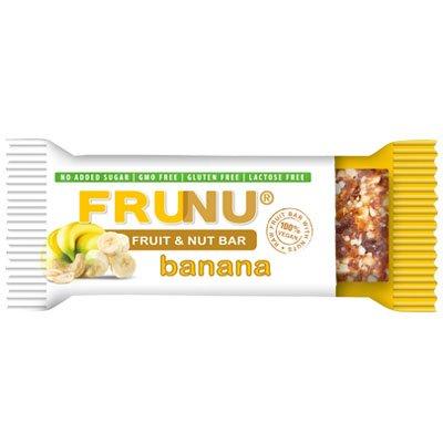 Frunu Bar Сурово Барче Банан без захар - 30 гр.