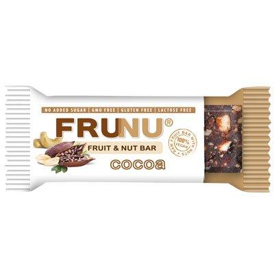 Frunu Bar Сурово Барче Какао без захар - 30 гр.