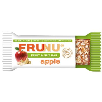 Frunu Bar Сурово Барче Ябълка без захар - 30 гр.
