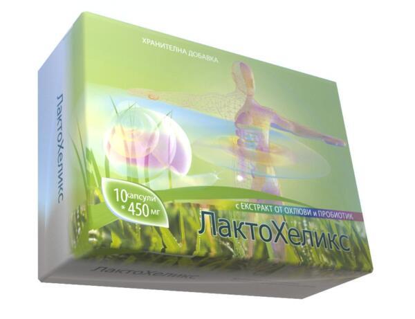 ЛактоХеликс - Naturae - синбиотичен препарат - 10/20 капс.