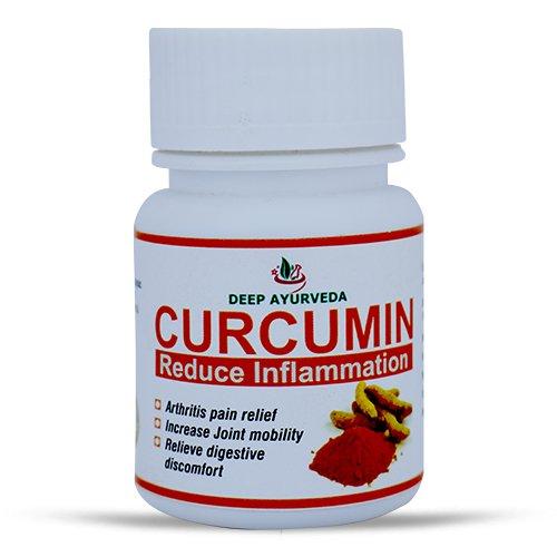 Deep Ayurveda Куркума (Curcumin) - 40 капсули