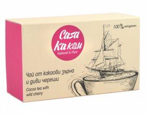 Casa Kakau Чай от Какаови зърна и Диви Череши - 36 гр.