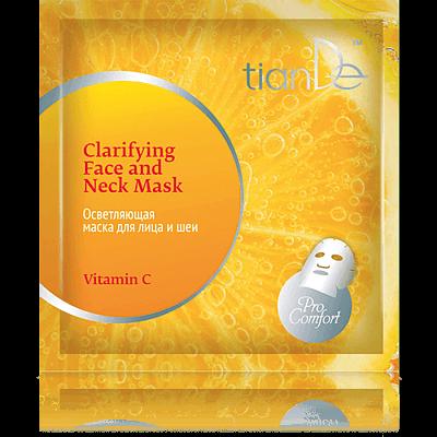 """Избелваща маска за лице и шия """"Витамин C"""" Pro Comfort, 35 г"""