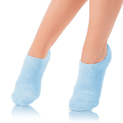 "Козметични  чорапи с гел ""Хидробаланс"", 1 чифт, универсален размер"