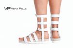 сандали Vera Pelle модел - White sun бяла кожа
