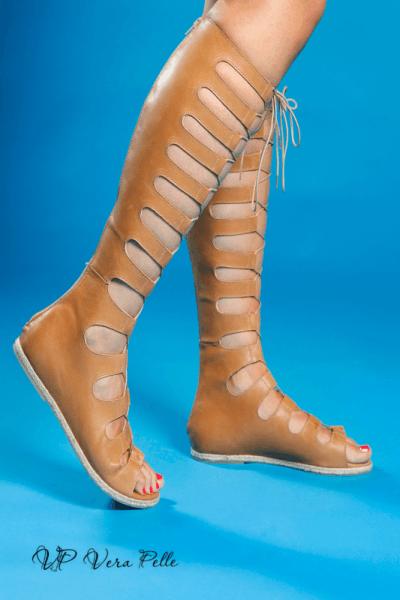 сандали Vera Pelle код - 1796 таба