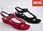 Дамски сандали Ara код - 34166 черен велур